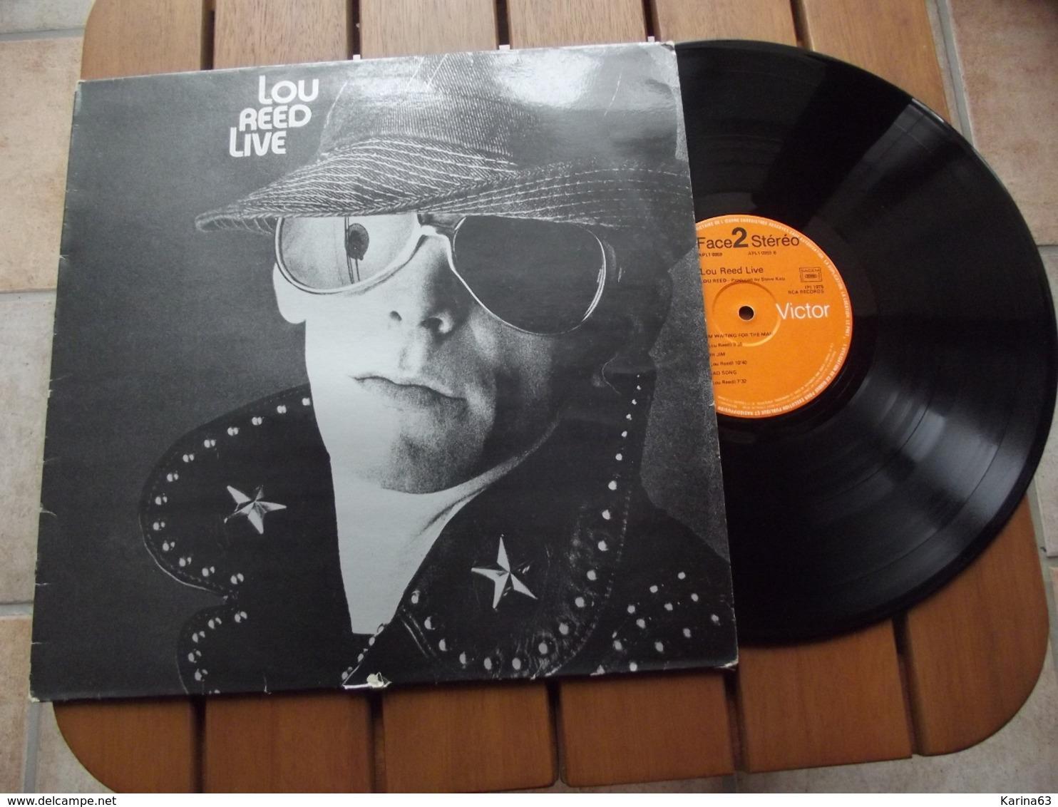 Lou Reed  – Lou Reed Live - 1975 - Rock
