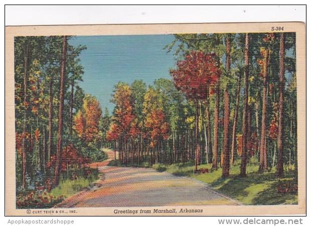 Arkansas Greetings From Marshall Curteich