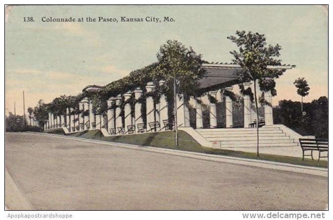Missouri Kansas City Colonnade at The Paseo 1911
