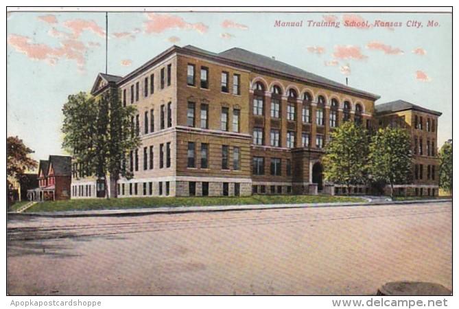 Missouri Kansas City Manual Training School 1909