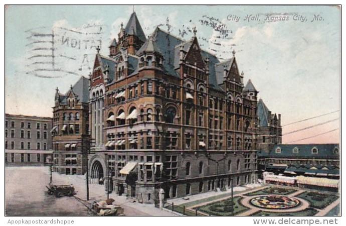 Missouri Kansas City City Hall 1908