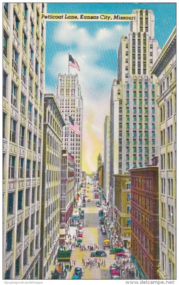 Missouri Kansas City Petticoat Lane 1960