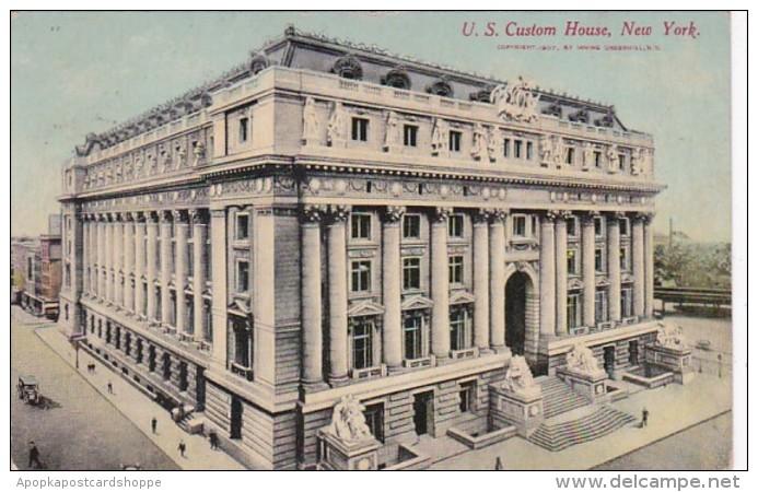 New York City United States Custom House 1910