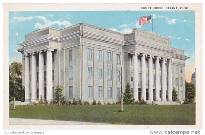 Ohio Celina Court House Curteich