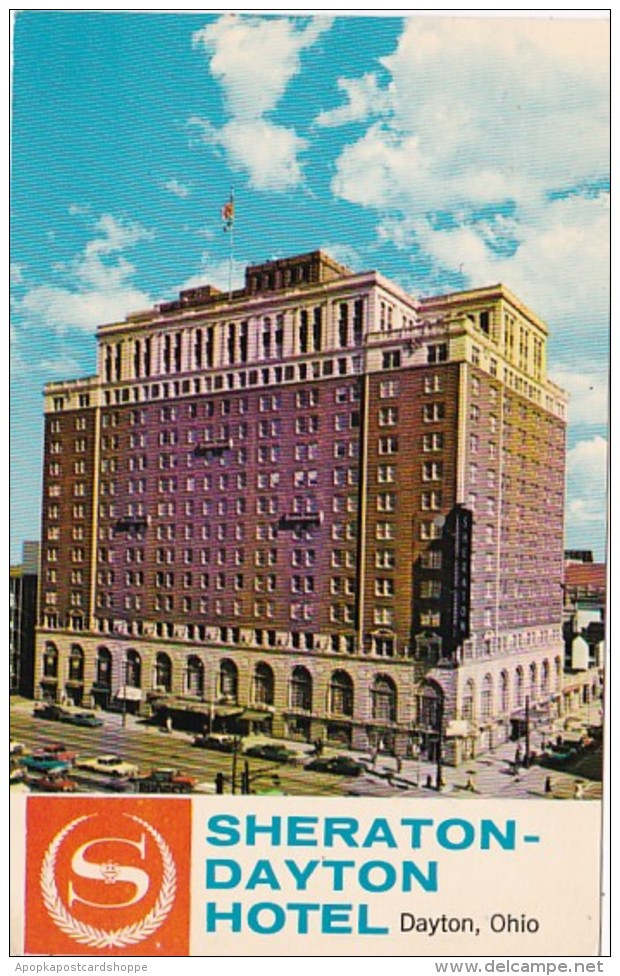 Ohio Dayton The Sheraton-Dayton Hotel 1968