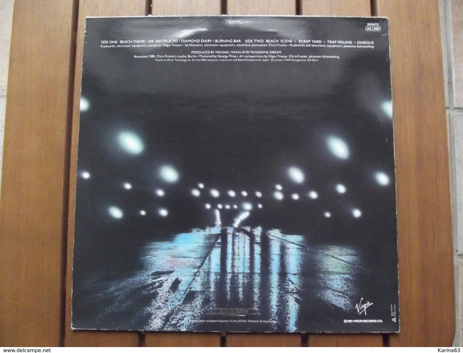 Tangerine Dream  – Thief  - 1981 - Rock
