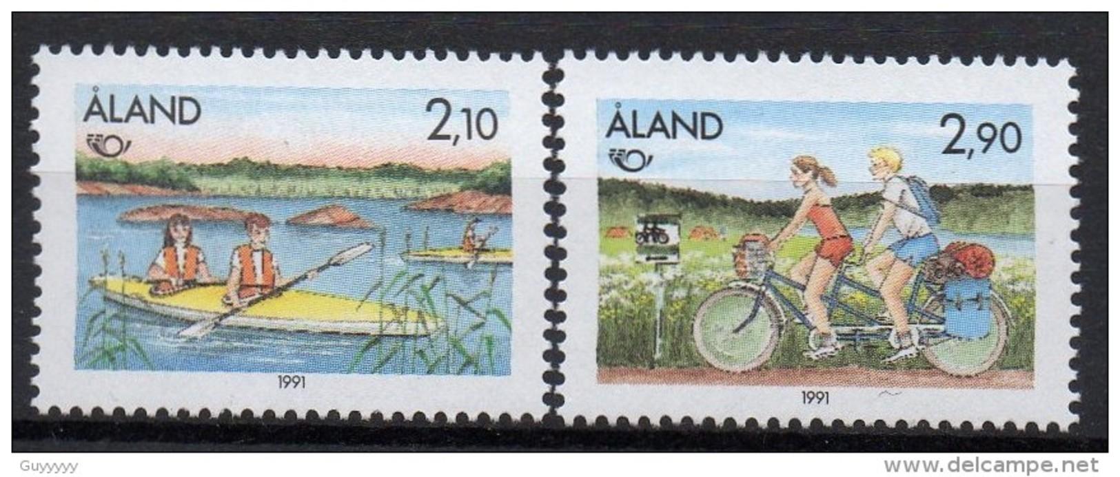 Aland - 1991 - Yvert N° 51 & 52 ** - Norden - Aland