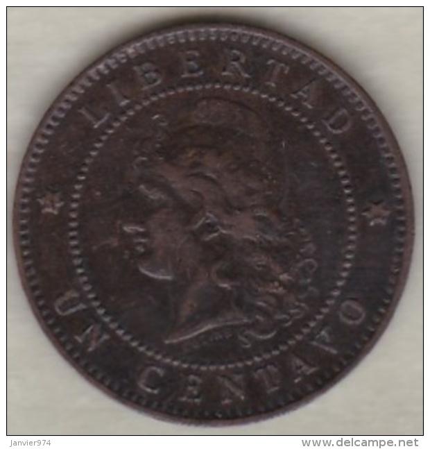 ARGENTINE / TUCUMAN. UN CENTAVO 1885. BRONZE - Argentine