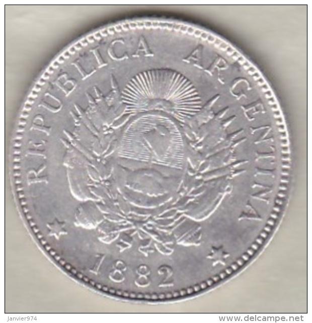 ARGENTINE / TUCUMAN . 20 CENTAVOS 1882. ARGENT - Argentine