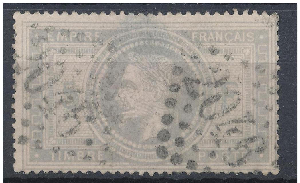 N°33 LOSANGE GRANDS CHIFFRES. - 1863-1870 Napoléon III Lauré