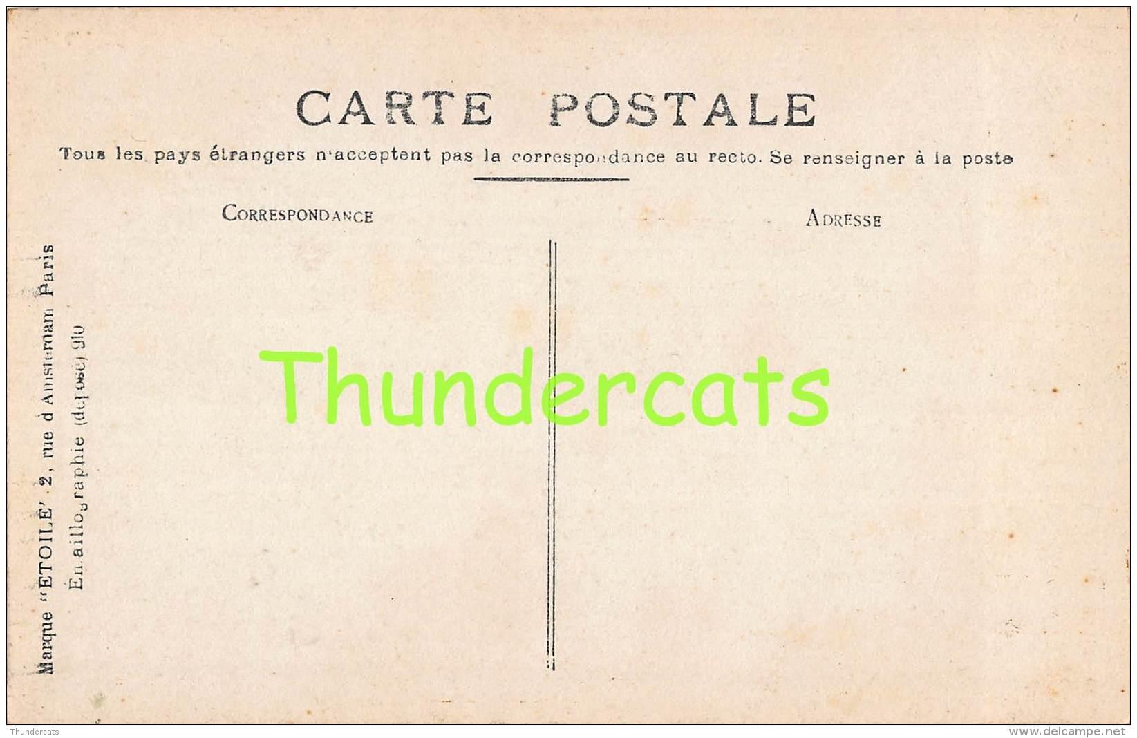 CPA OOSTENDE OSTENDE -  LA GARE CARTE DE PHOTO ETOILE - Oostende