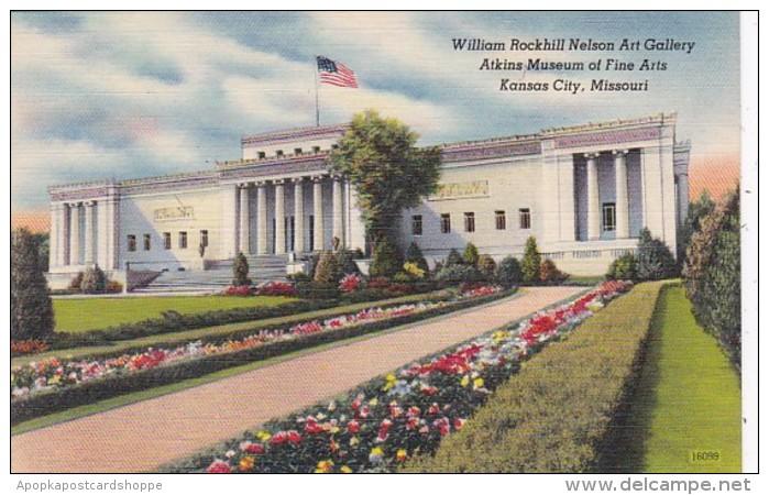 Missouri Kansas City William Rockhill Nelson Art Gallery Atkins