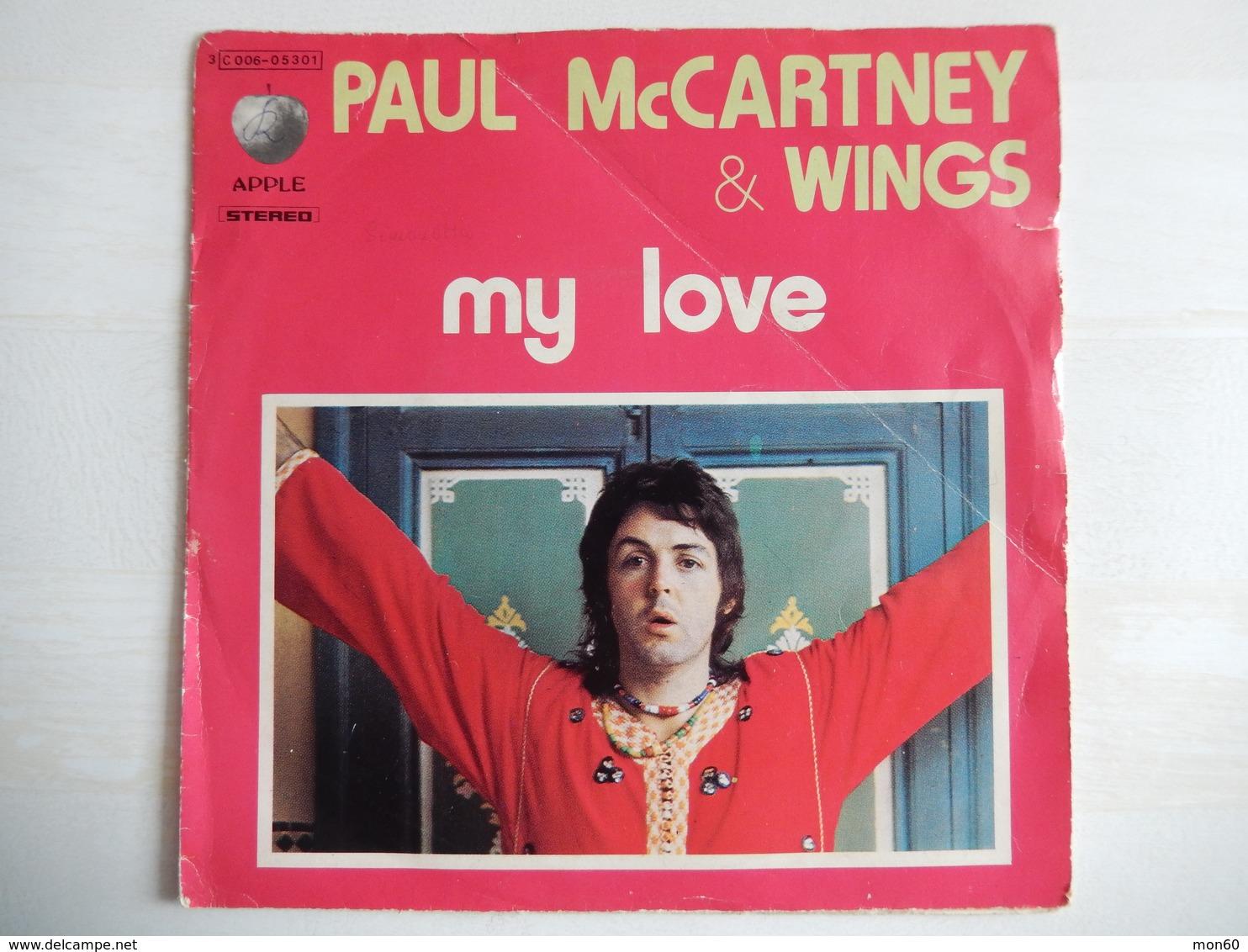 45 Giri - Paul McCarteny - MY LOVE - 45 Rpm - Maxi-Singles