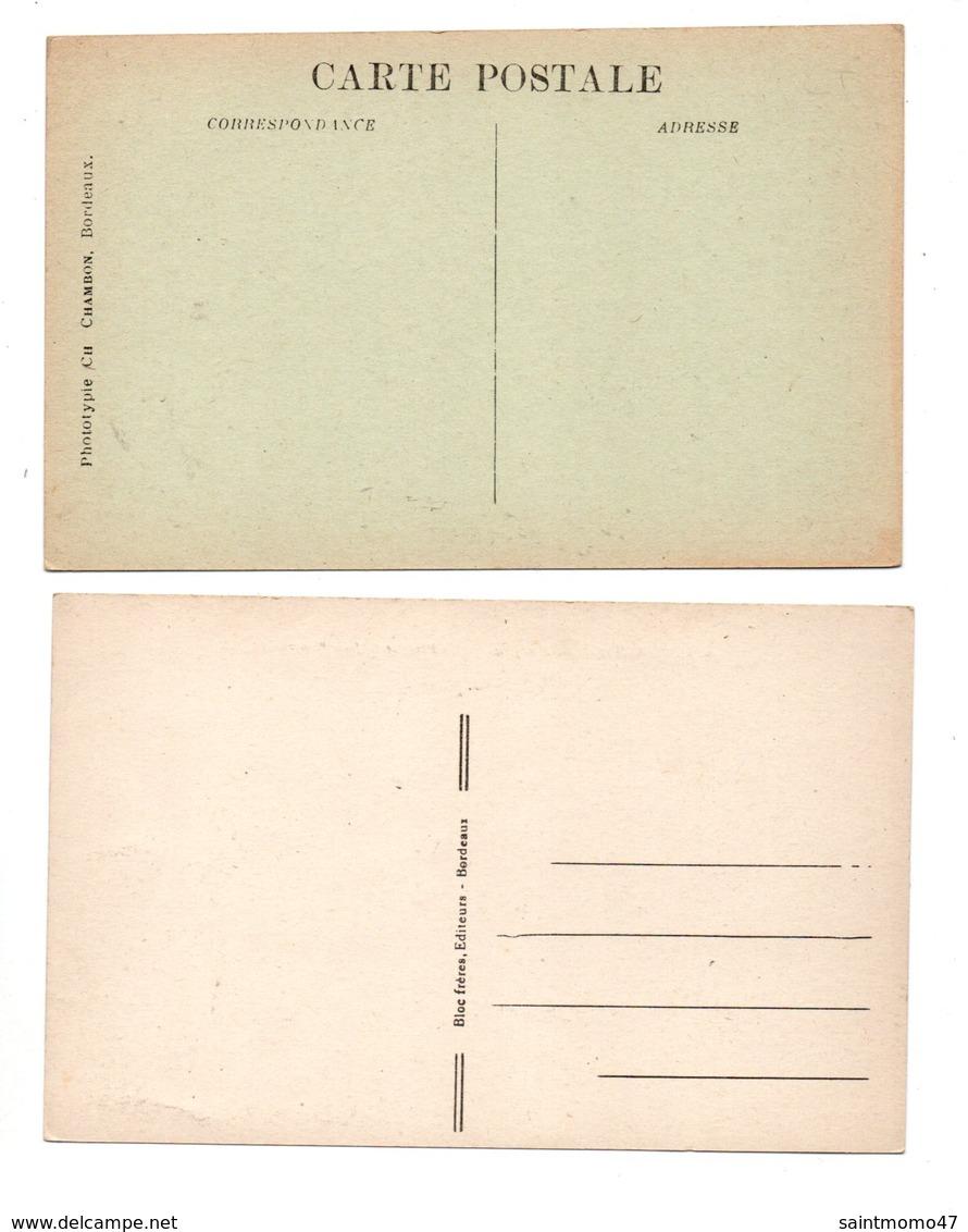 33 - ARCACHON . 2 CARTES POSTALES - Réf. N°8483 - - Arcachon