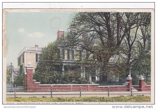 Massachusetts Plymouth Edward Winslow House Built 1754 Detroit P