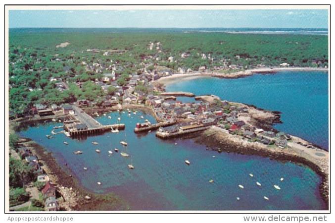 Massachusetts Cape Anne Aerial View Bearskin Neck Front Beach Ya