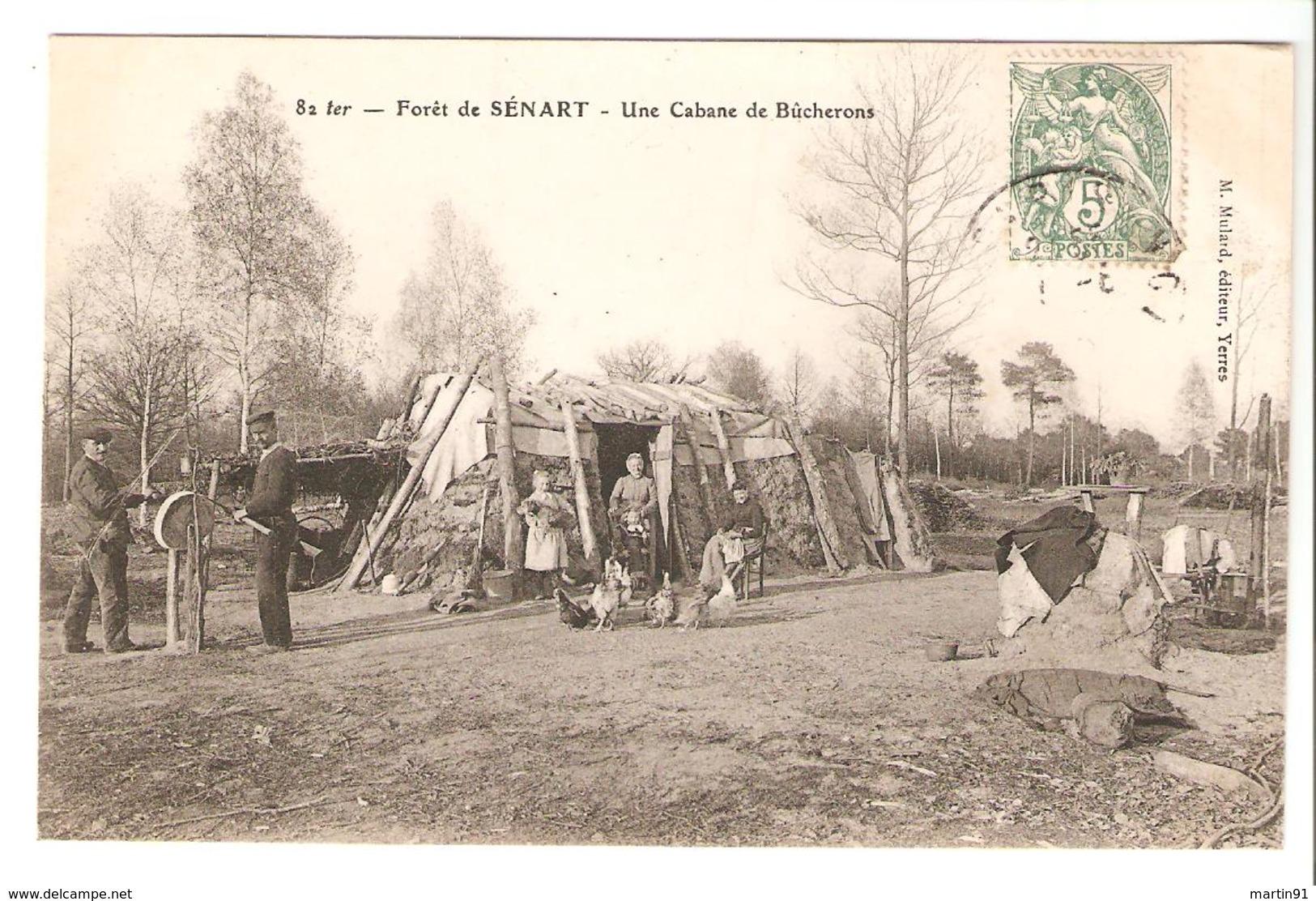 Forêt De Sénart - Une Cabane De Bûcherons - France