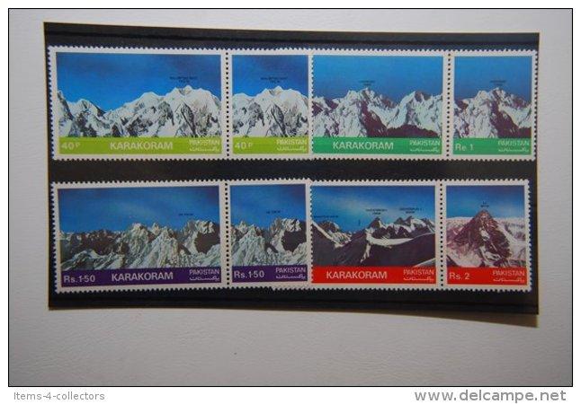 PAKISTAN SG 0562-69 MOUNTAIN PEAKS IN SETENENTS - Pakistan