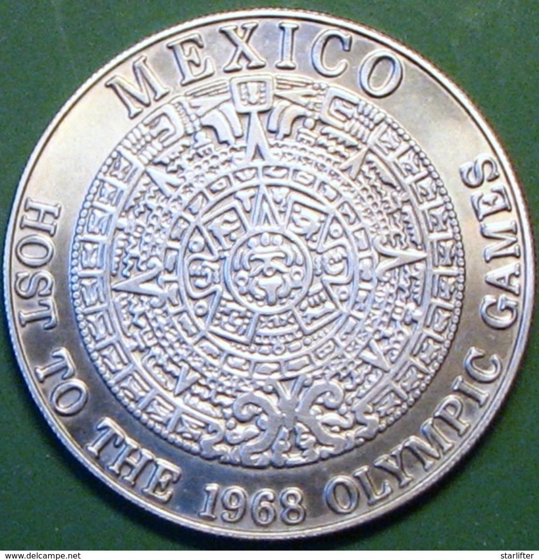 $1 Casino Token. Caliente, Tijuana, Mexico. 1966 NEW. D09. - Casino
