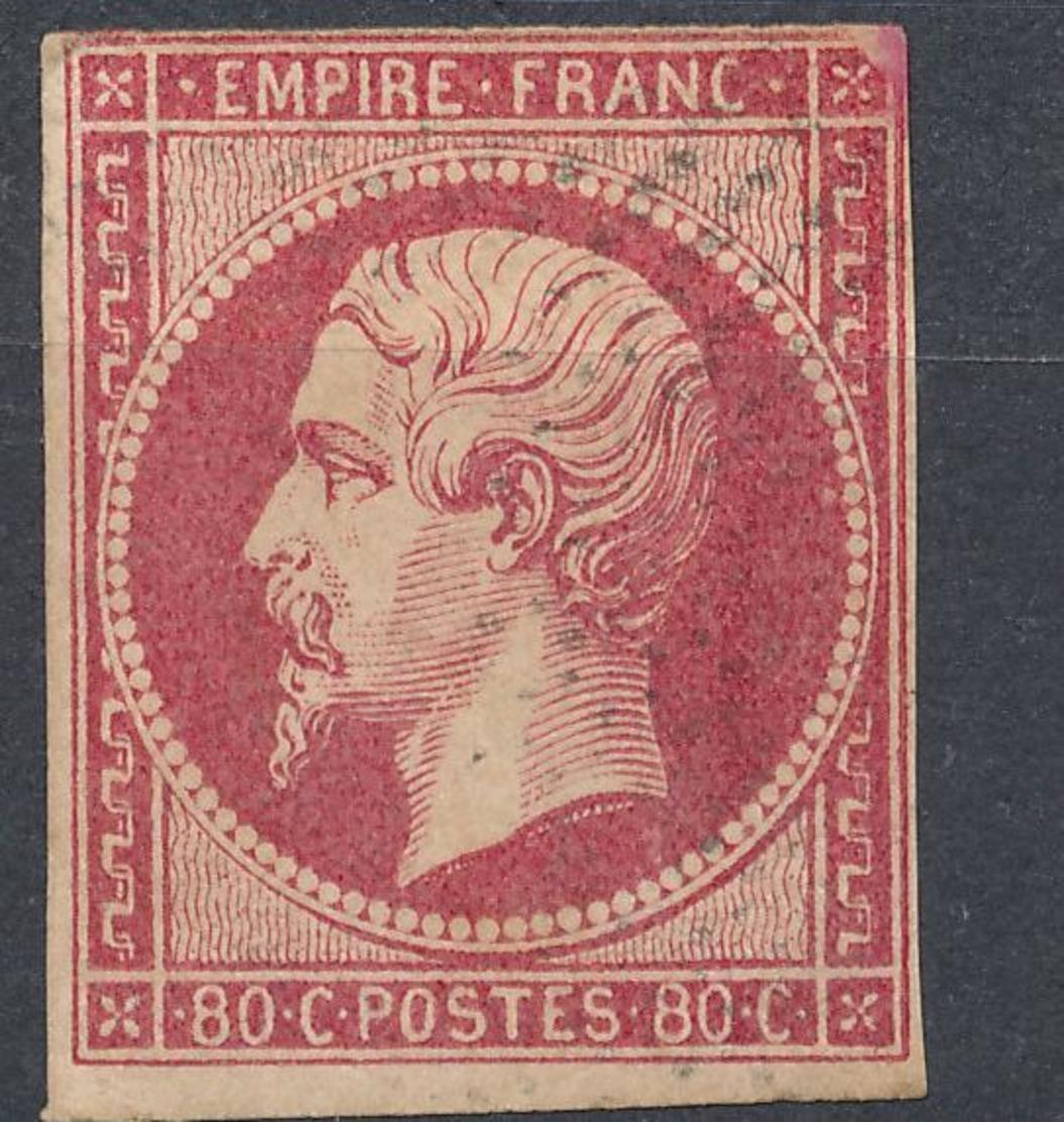 N°17 TRES BELLE NUANCE. - 1853-1860 Napoléon III