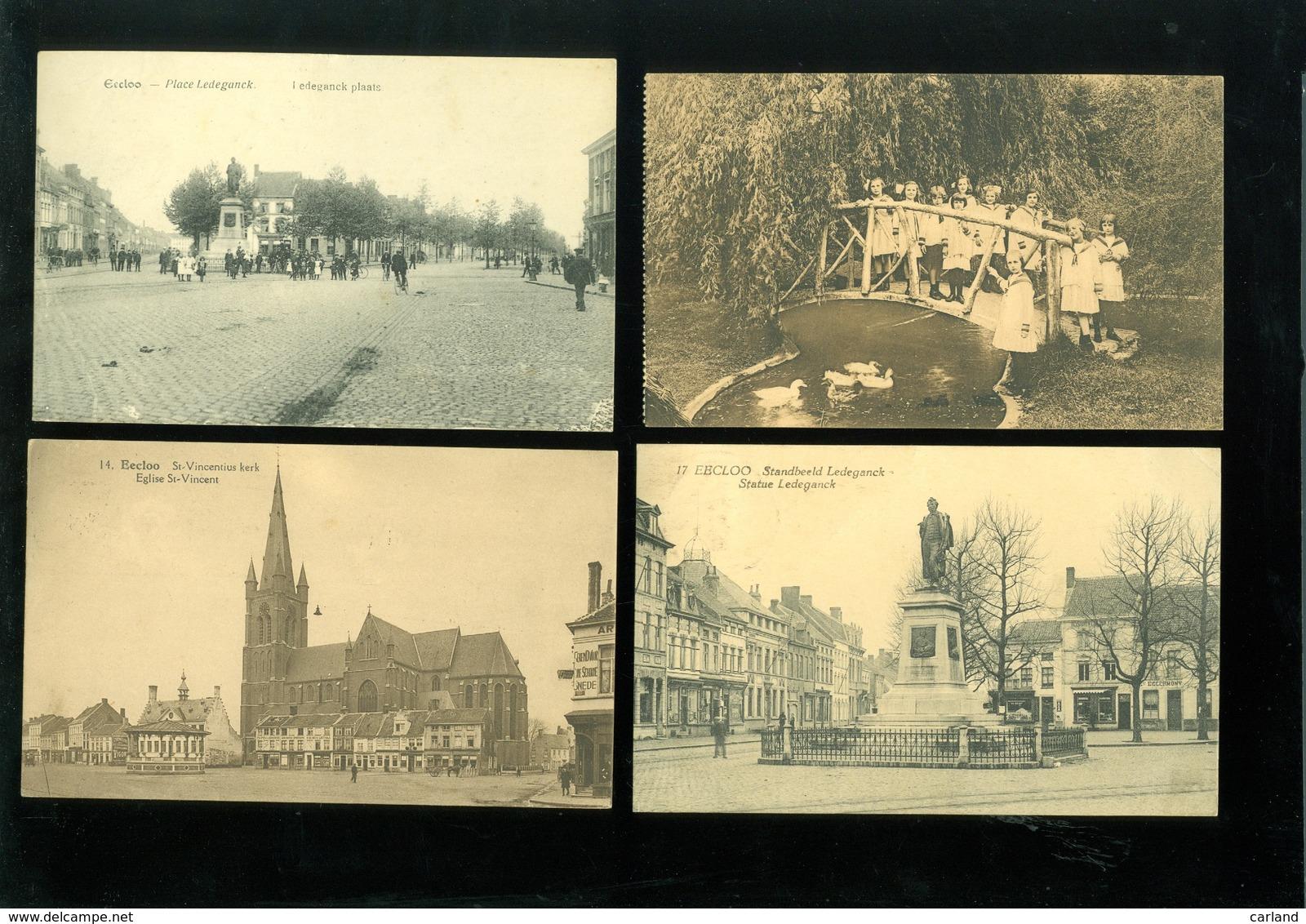 Beau Lot De 20 Cartes Postales De Belgique Eecloo  Eekloo   Lot 20 Postkaarten Van België  Eeklo - 20 Scans - Cartes Postales