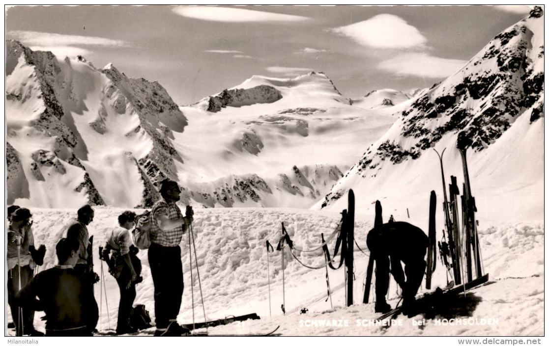 Schwarze Schneide Bei Hochsölden (71) * 1965 - Sölden