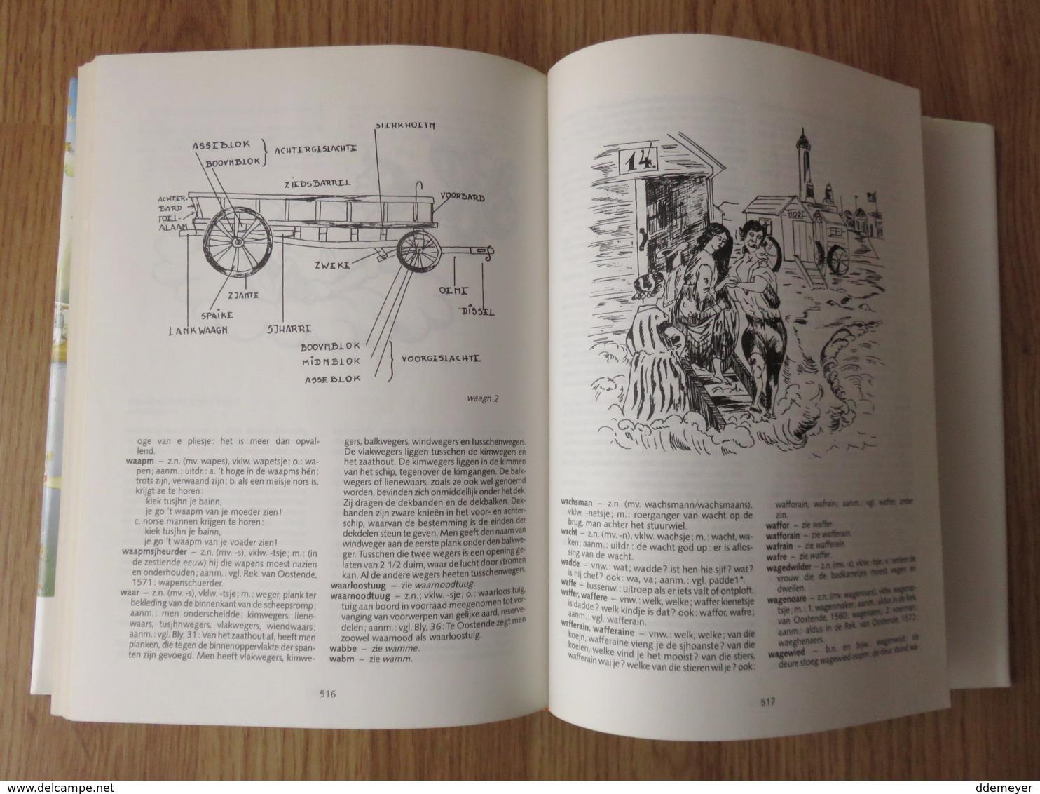 Oostends Woordenboek 575blz Roland Desnerck 1988 - Dictionaries