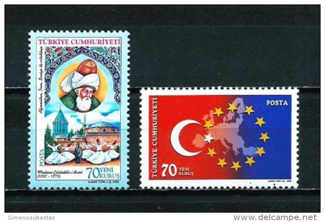 Turquía  Nº Yvert  3205-3208  En Nuevo - 1921-... República