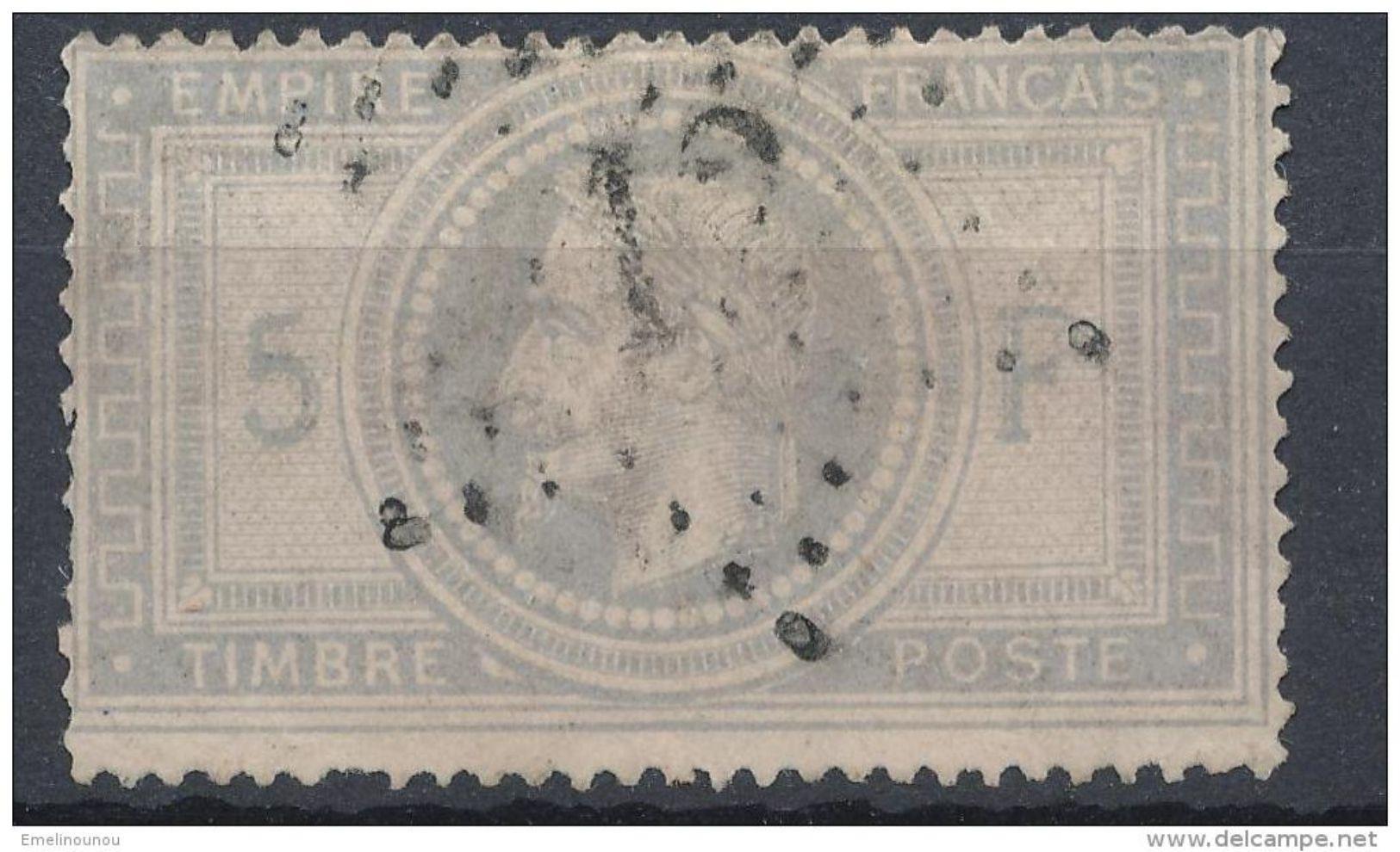 N°33 ETOILE DE PARIS CHIFFRE 12 - 1863-1870 Napoléon III Lauré
