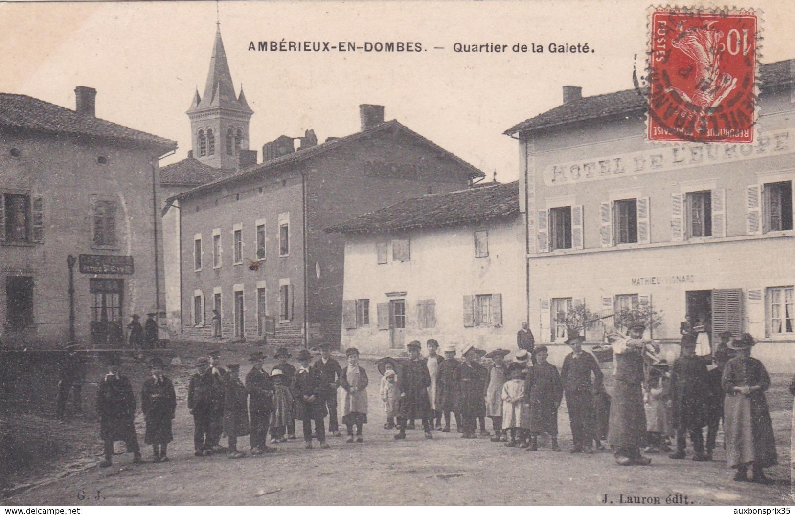 AMBERIEUX EN DOMBES - QUARTIER DE LA GAIETE - 01 - Autres Communes