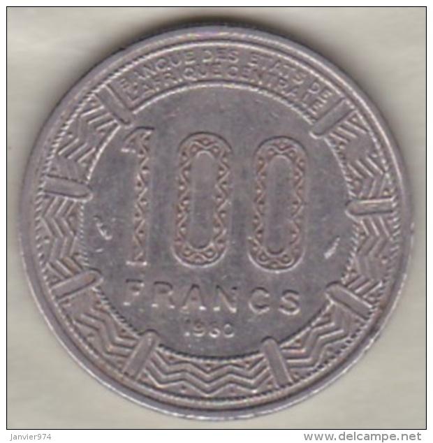 République Du Tchad 100 Francs 1980, Cupro Nickel , KM# 3 - Tchad