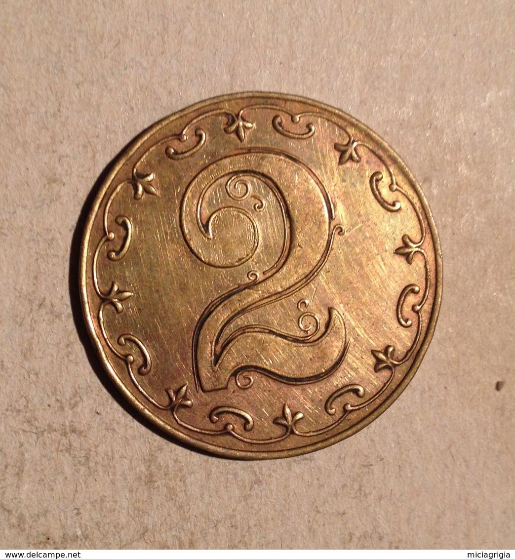 TOKEN JETON GETTONE K. A. 2 - Fichas Y Medallas