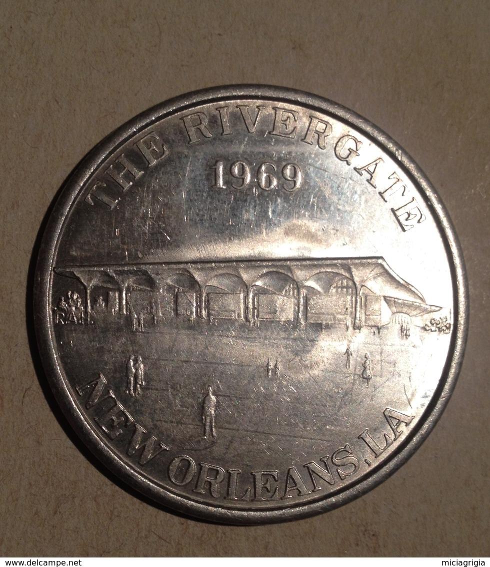 TOKEN JETON GETTONE  THE RIVERGATE 1969 NEW ORLEANS - Monétaires/De Nécessité