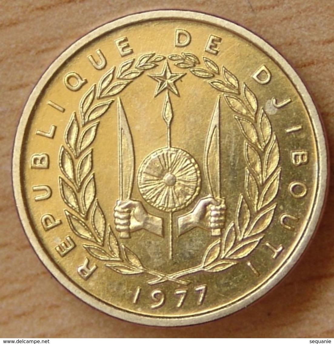 Djibouti 10 Francs 1977 ESSAI République De Djibouti - Djibouti