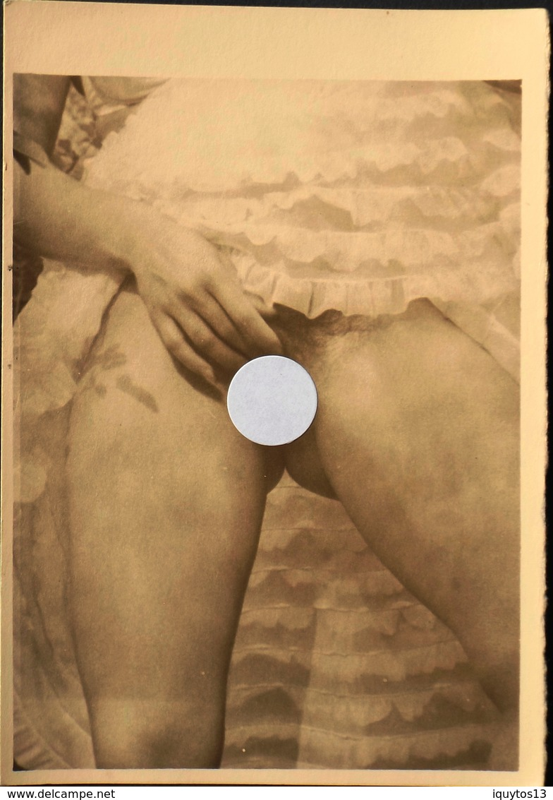 PHOTO En NOIR Et BLANC - En Bon Etat - Fine Nude Art (1941-1960)