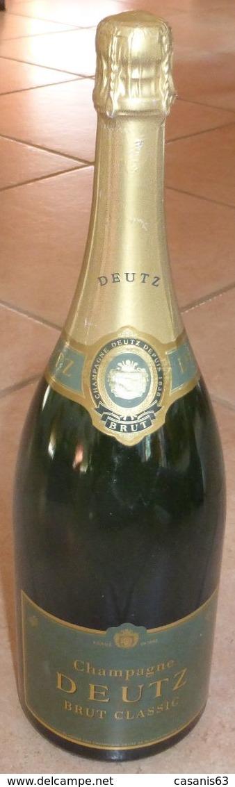 BOUTEILLE FACTICE - CHAMPAGNE - DEUTZ   -  BRUT CLASSIC  ( Magnum De 1.5 L  ) - Champagne & Mousseux