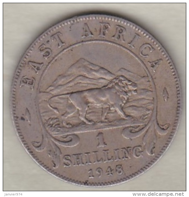 East Africa  1 Shilling 1948 George VI . KM# 31 - Monnaies
