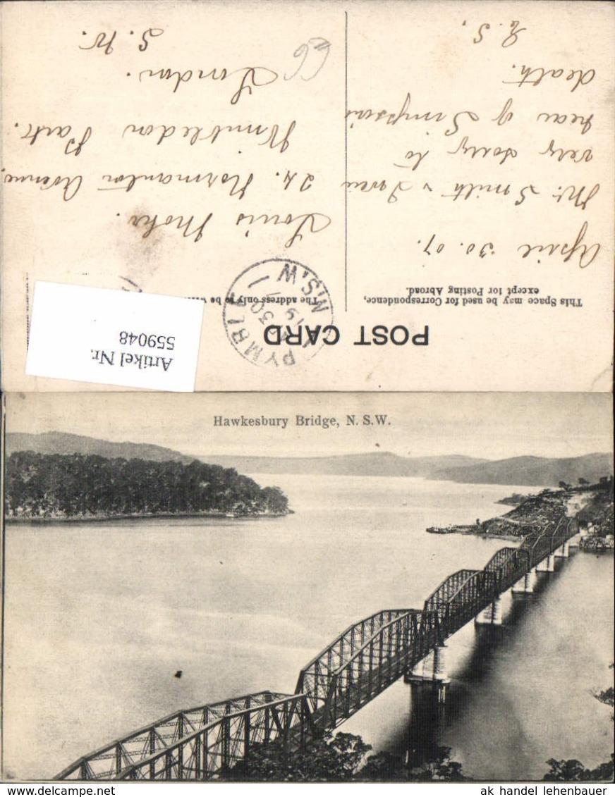 559048,Hawkesbury Bridge Brücke Brooklyn New South Wales - Ansichtskarten