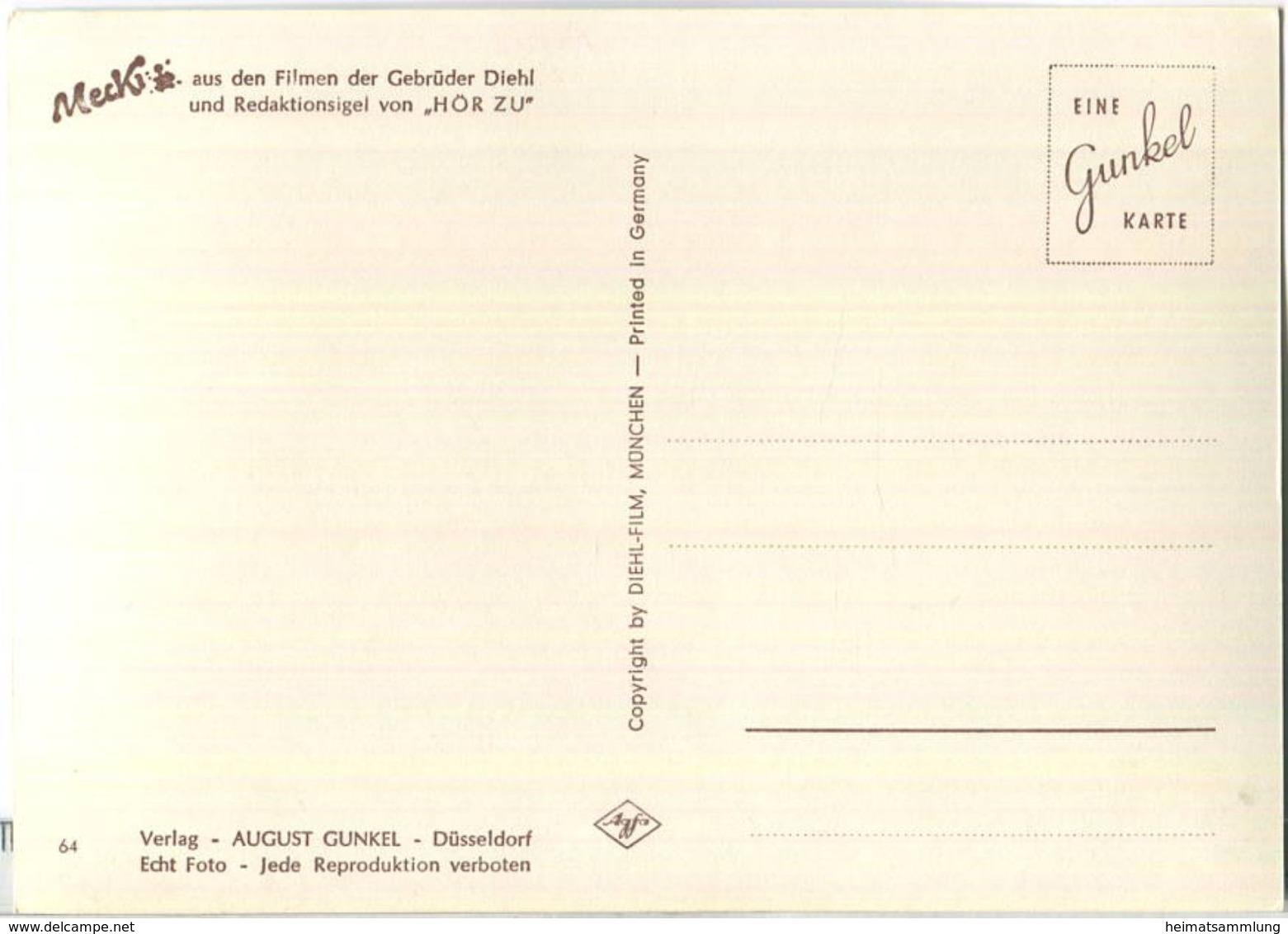 Mecki - Du Alter Wilddieb - Nr. 64 - Verlag August Gunkel Düsseldorf - Mecki
