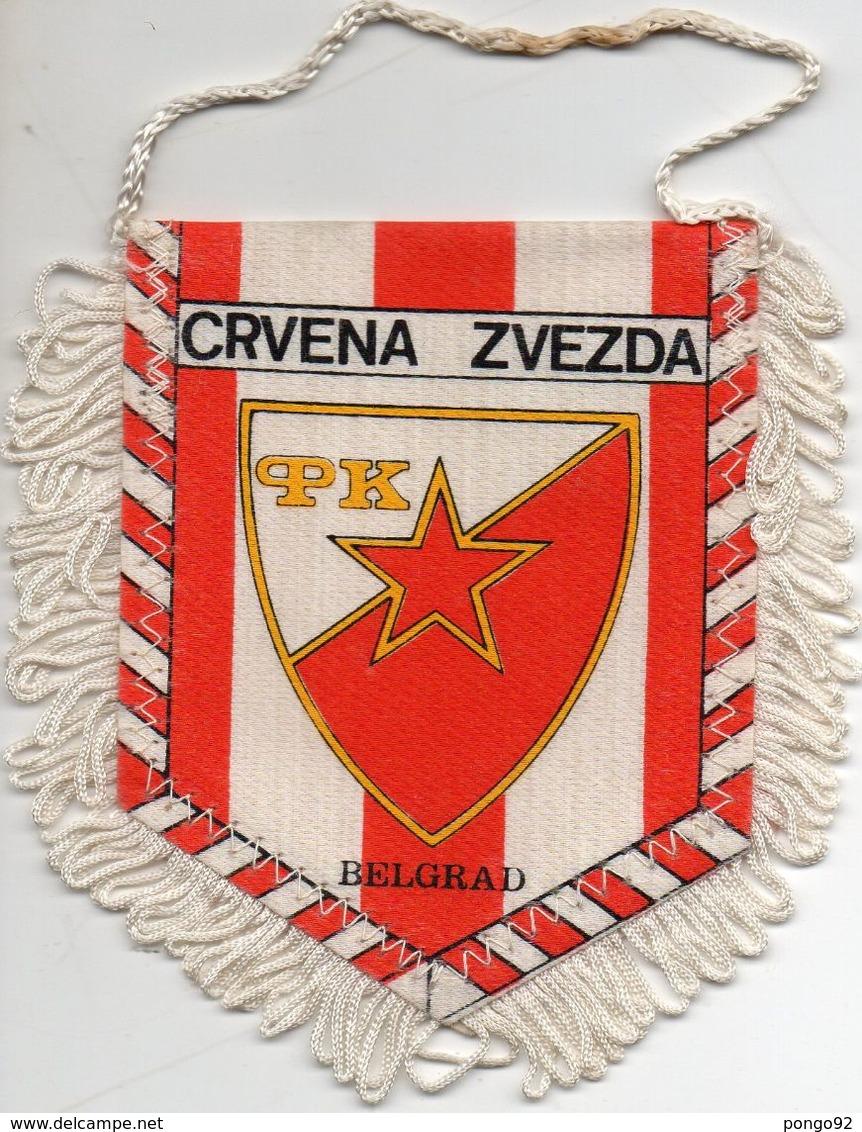 Fanion Football, VRVENA ZVEZDA Belgrade, - Habillement, Souvenirs & Autres