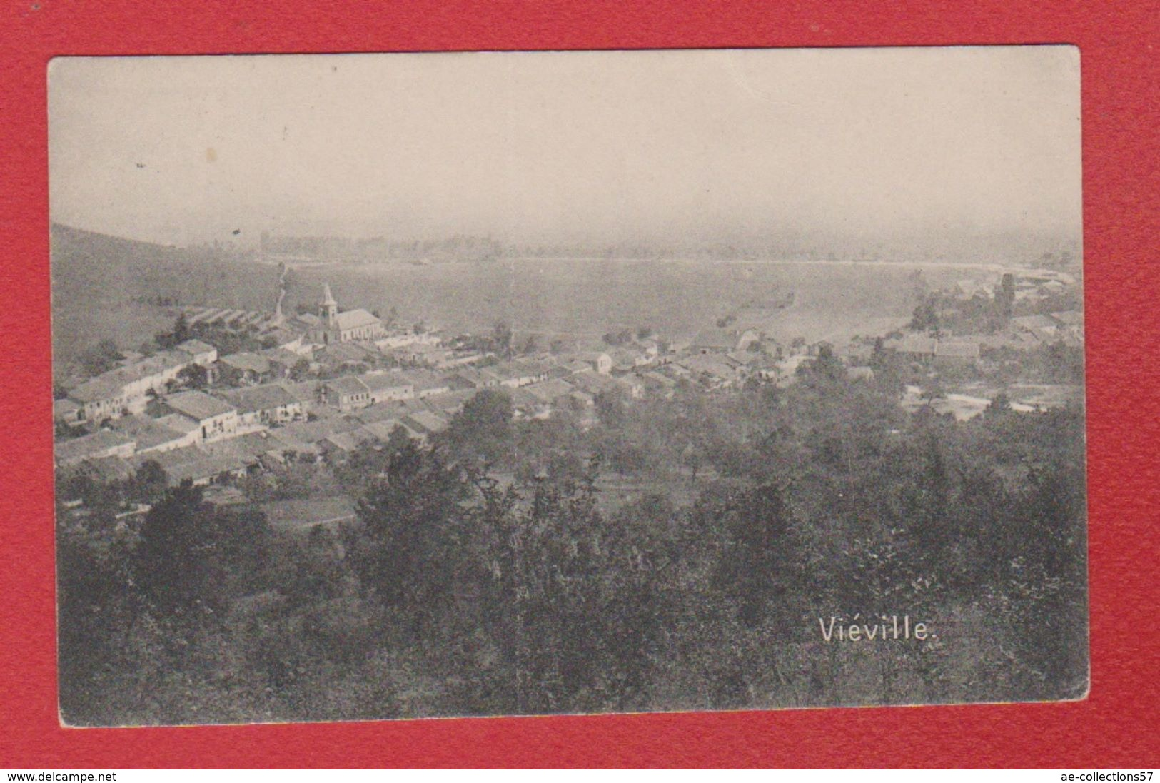 Viéville  -- Cachet 10 Inf Div - France