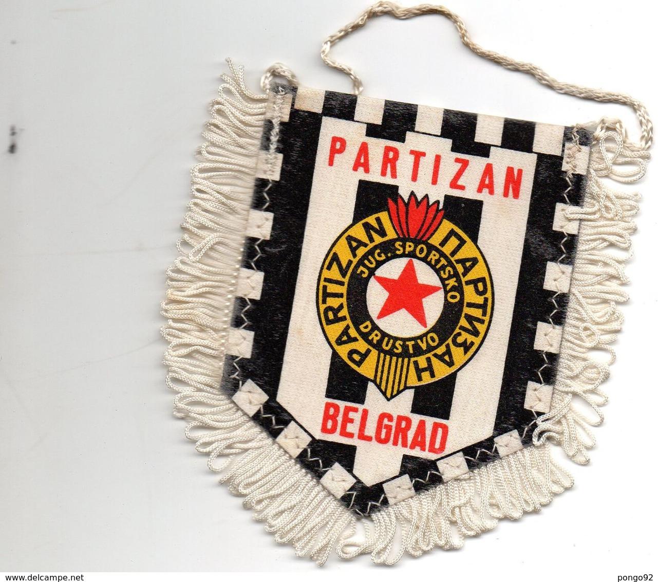 Fanion Football, PARTIZAN Belgrad - Habillement, Souvenirs & Autres