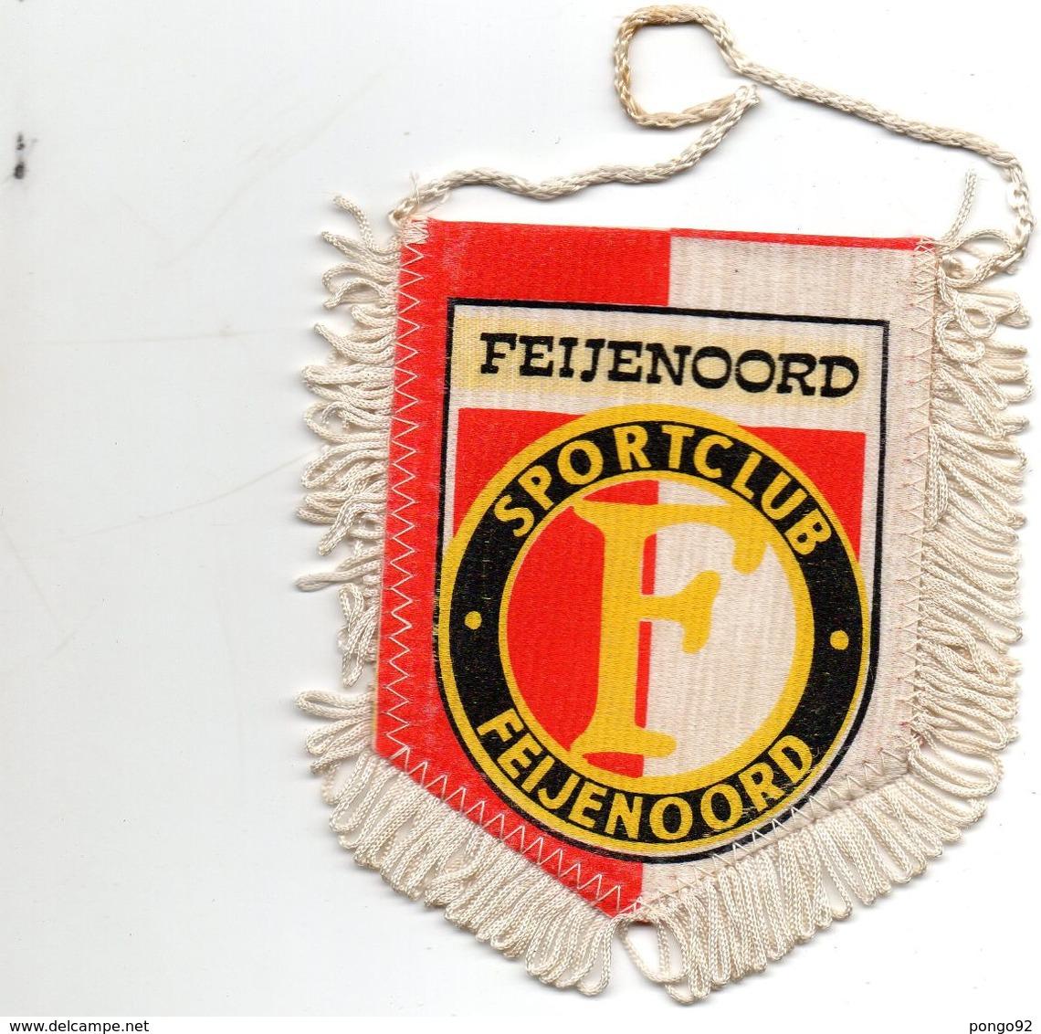 Fanion Football, FEIJENOORD SPORTCLUB - Habillement, Souvenirs & Autres