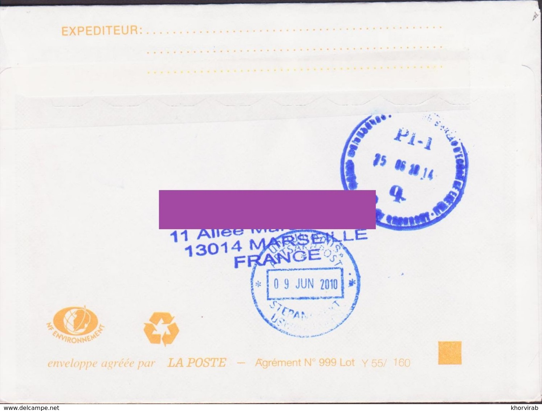 FRANCE COVER POSTED TO ARTSAKH NAGORNO KARABAKH ARMENIA - France