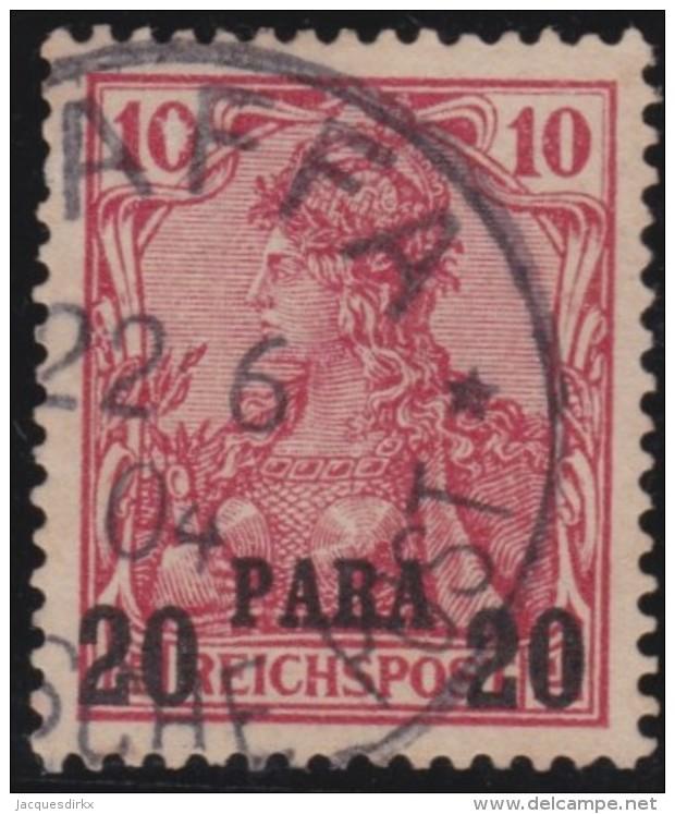 Michel    .     13 I      .     Stempel  JAFFA   .     O   .              Gebraucht - Deutsche Post In Der Türkei