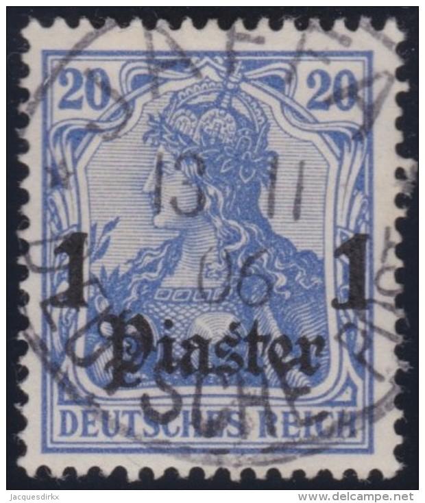 Michel    .     26        .     Stempel  JAFFA   .     O   .              Gebraucht - Deutsche Post In Der Türkei