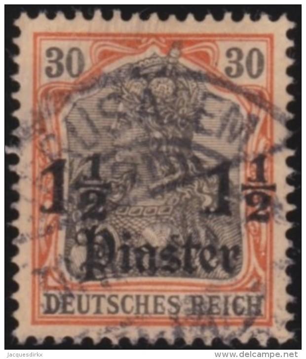 Michel    .      28      .     Stempel   JERUSALEM     .     O   .              Gebraucht - Deutsche Post In Der Türkei