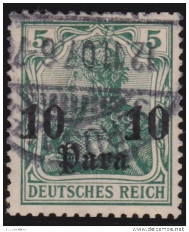 Michel    .      36          .        Stempel   JERUSALEM     .     O   .              Gebraucht - Deutsche Post In Der Türkei