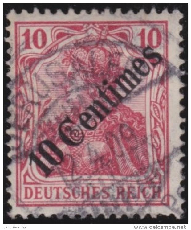 Michel    .      49          .        Stempel   JERUSALEM     .     O   .              Gebraucht - Deutsche Post In Der Türkei