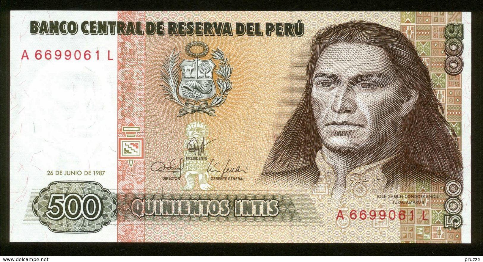 Peru 1987, 500 Intis - UNC - A6699061L - Peru